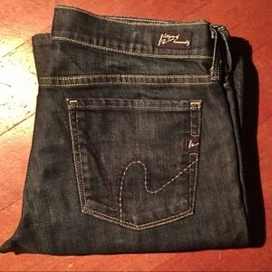 Citizens of humanity Dark Wash 'dita' jeans
